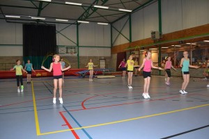 ropeskipping single rope groep